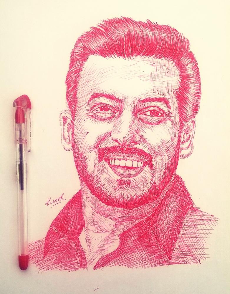 Salman Khan by Kumarr